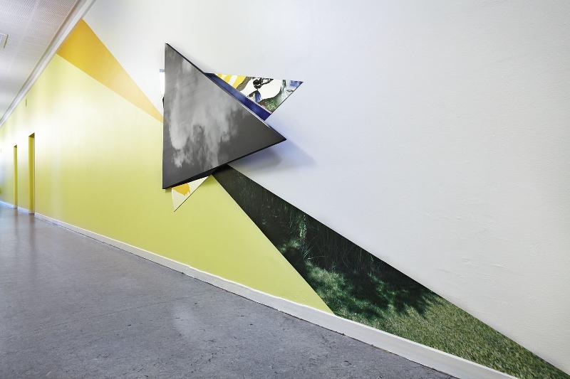 Rødovre Gymnasium by artist Julie Boserup