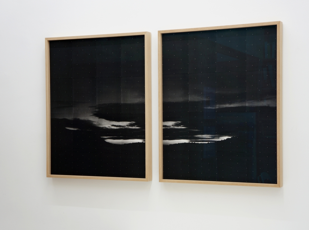 Adam Jeppesen. 'Untitled 1307 p1 + p2'. 2012, 99,5 x 80,5 cm each